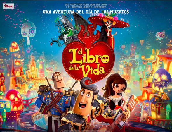 Actividades Con La Pelicula El Libro De La Vida Fluencyprof Com Libro De La Vida Peliculas En Español Películas De Animación