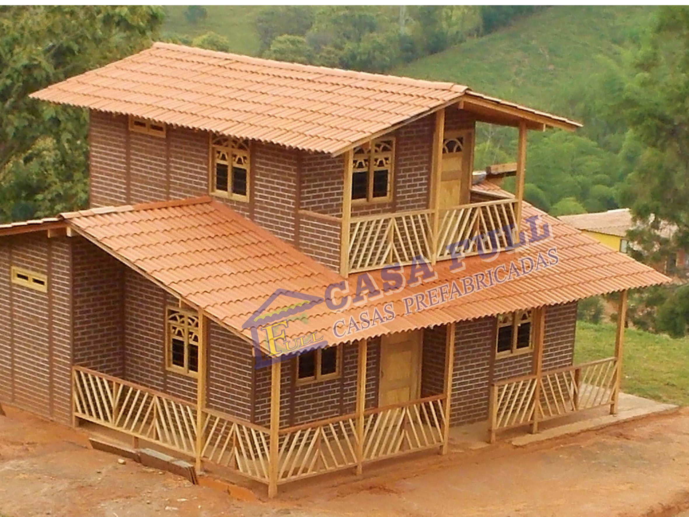 Casa Prefabricada - CASA DE 140M2 | Plan maison, Maison