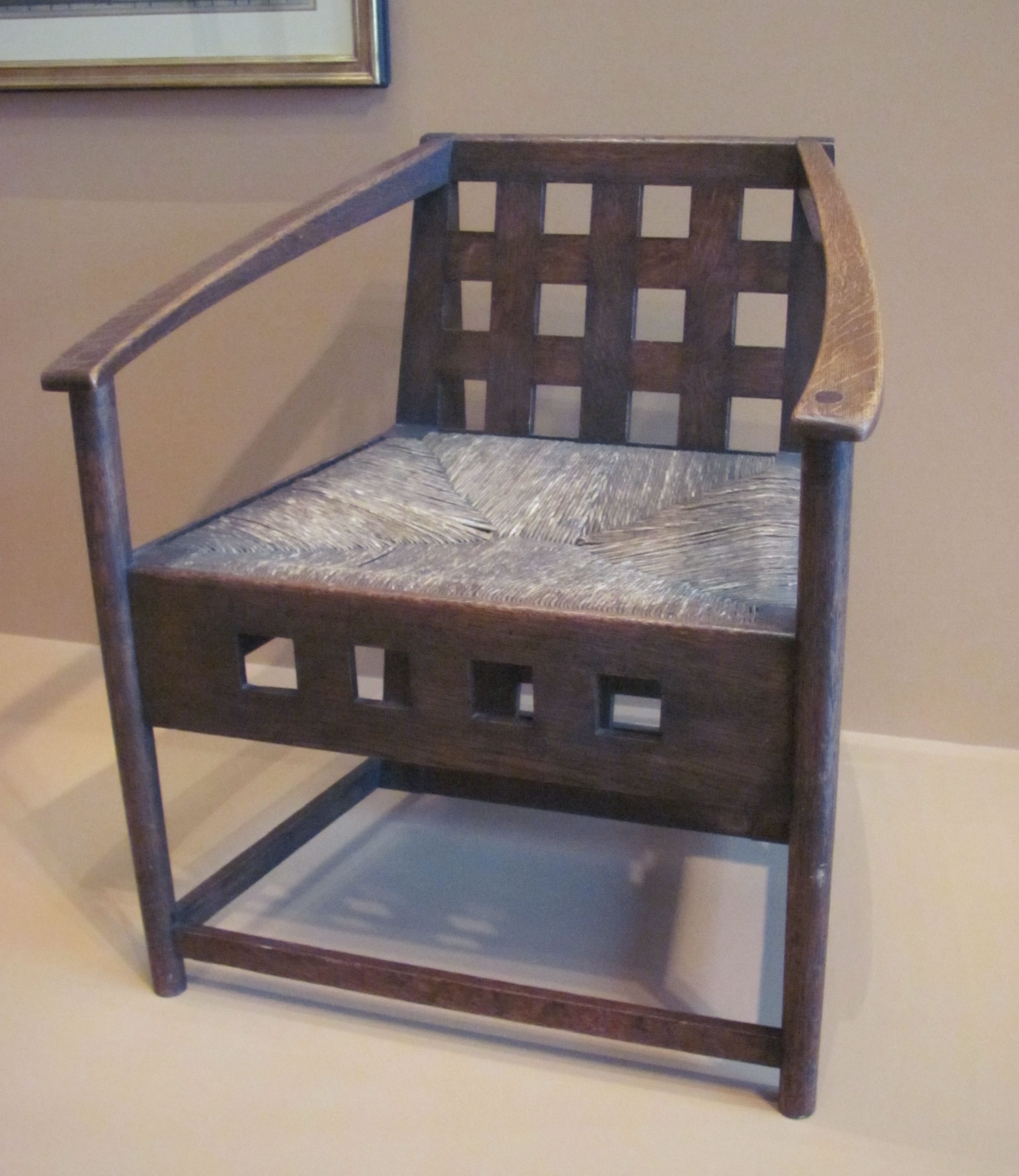 Charles Rennie Mackintosh Vmfa Sitting Pinterest Charles  # Muebles Kevin Charles