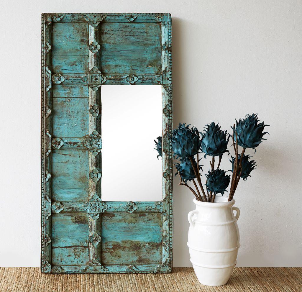 Turquoise India Door Frame Mirror! #Exquisite #Home #Decor ...