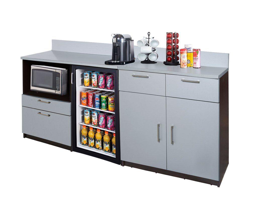 Best Coffee Kitchen 36 H X 84 W Base Cabinet Break Room 640 x 480