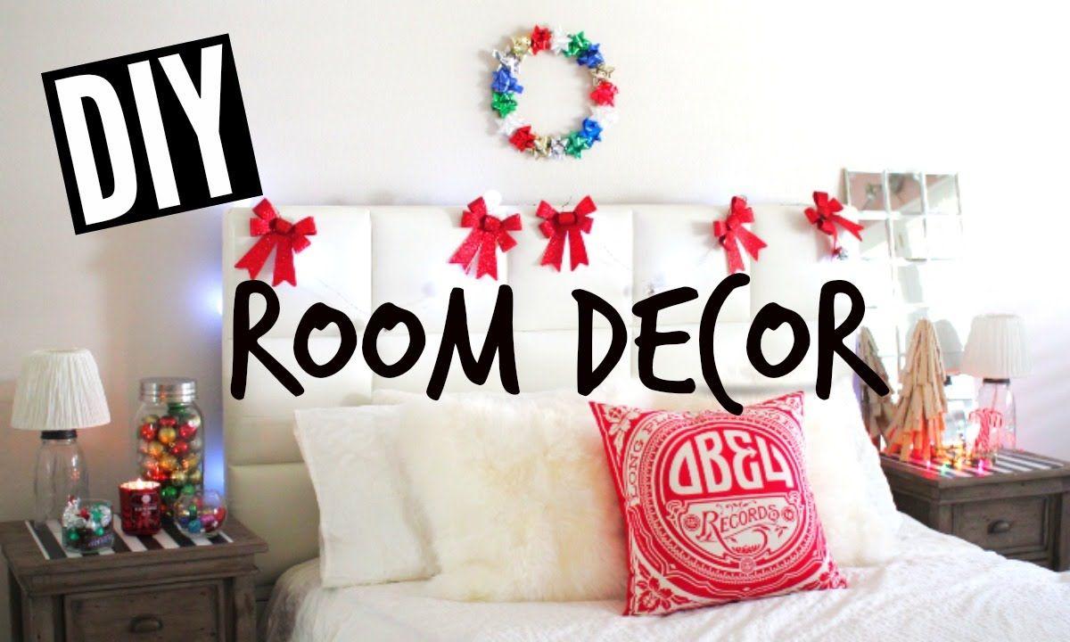 Diy Holiday Room Decor Easy Tumblr Christmas Room Christmas