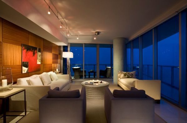 modern living room track lighting best places to buy furniture shining a spotlight 34 gorgeous ideas for the accentuate beauty of particular section with intelligent