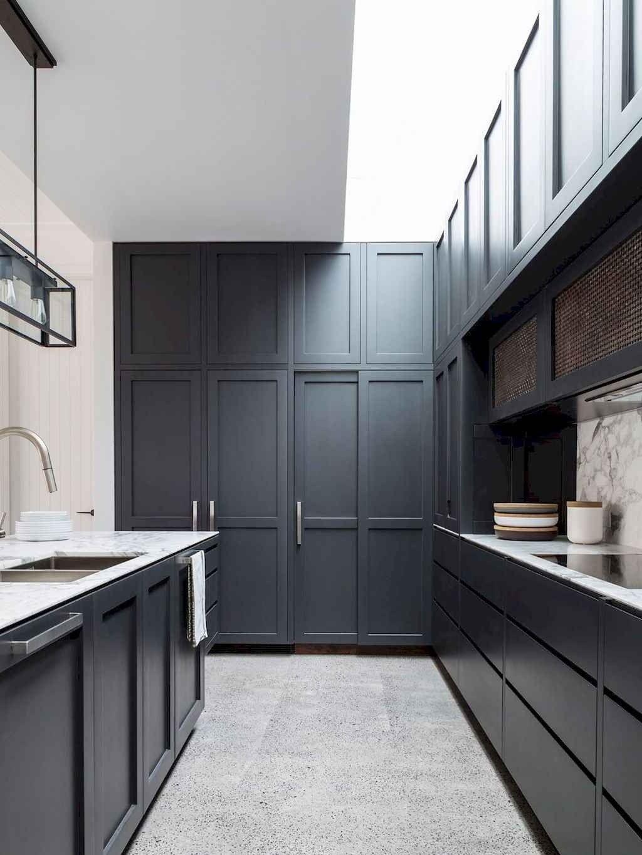 60 Black Kitchen Cabinets Design Ideas Shaker Style Kitchen Cabinets Kitchen Cabinet Layout Shaker Style Kitchens