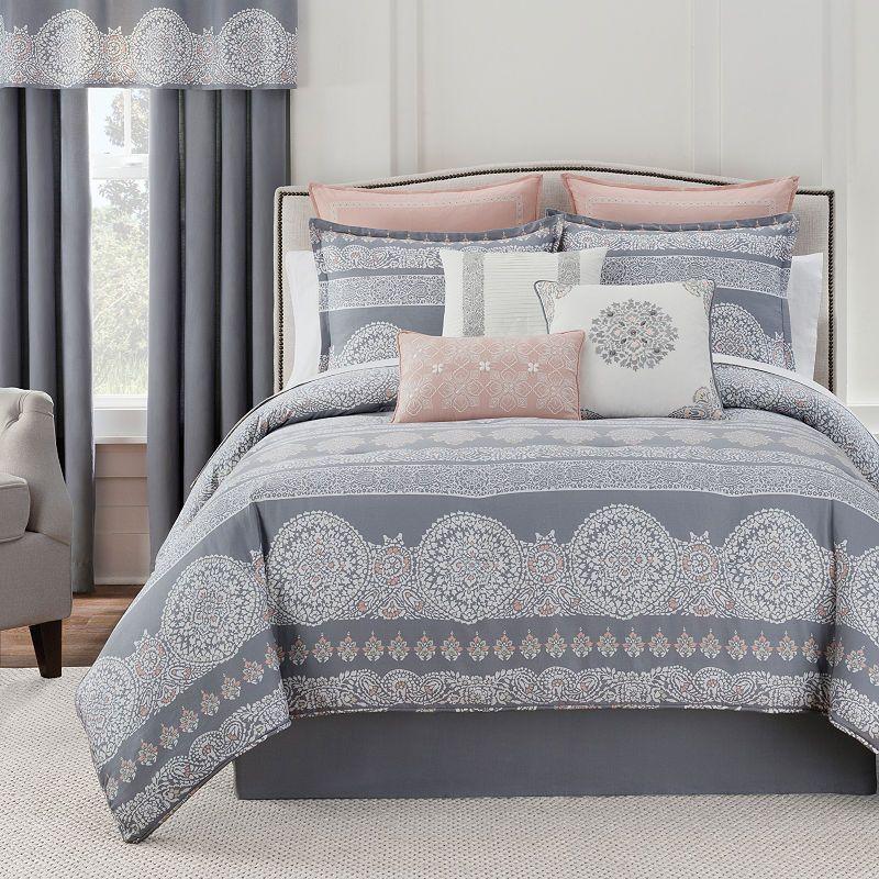 Eva Longoria Home Bethany 4 Pc Comforter Set Comforter Sets