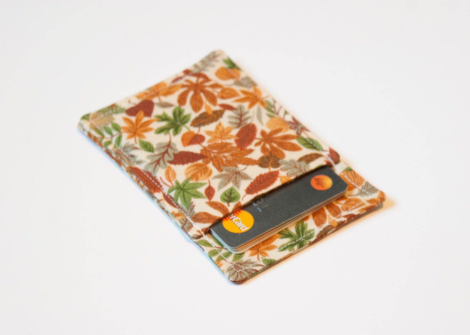 New to Chockrosa on Etsy: Fall Autumn wallet - Minimalist wallet ...