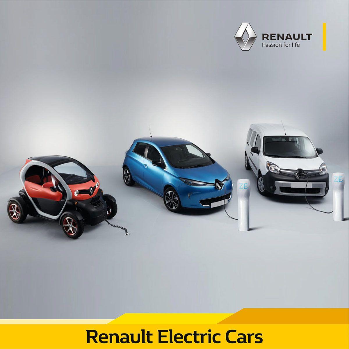 في عام 2013 أصبحت رينو الشركة الرائدة في مبيعات السيارات الكهربائية في أوروبا مع مجموعة كبيرة من المركبات مثل Twizy Zo In 2020 Renault Commercial Vehicle Hatchback