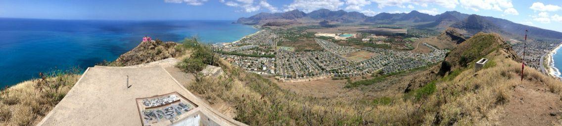 West coast hike