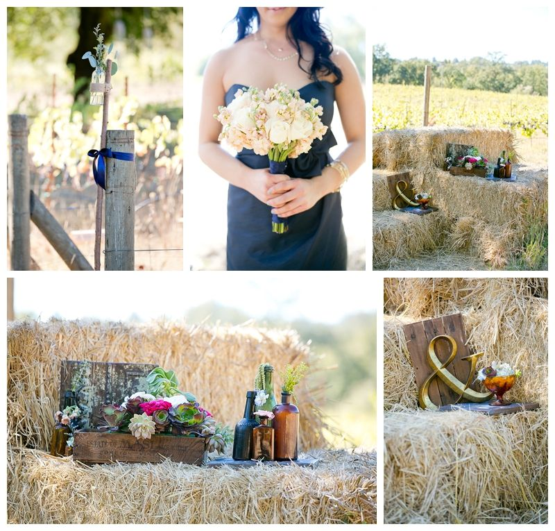 Jessica And Mikes Russian River Vineyards Wedding Photos Decor