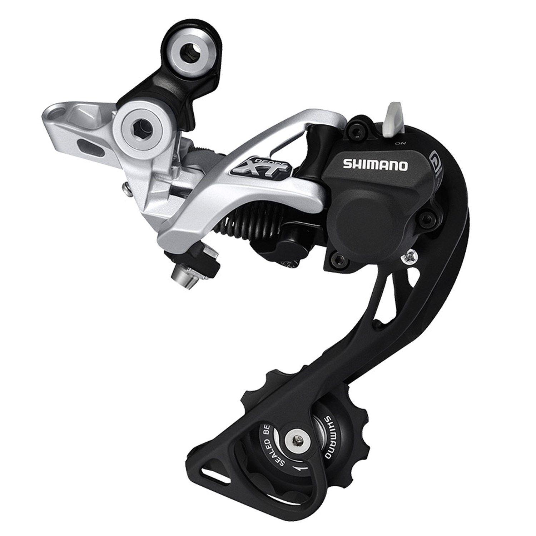 MTB REAR BICYCLE DERAILLEUR SHIMANO XT M786-SGS 10-SPEED LONG CAGE SHADOW