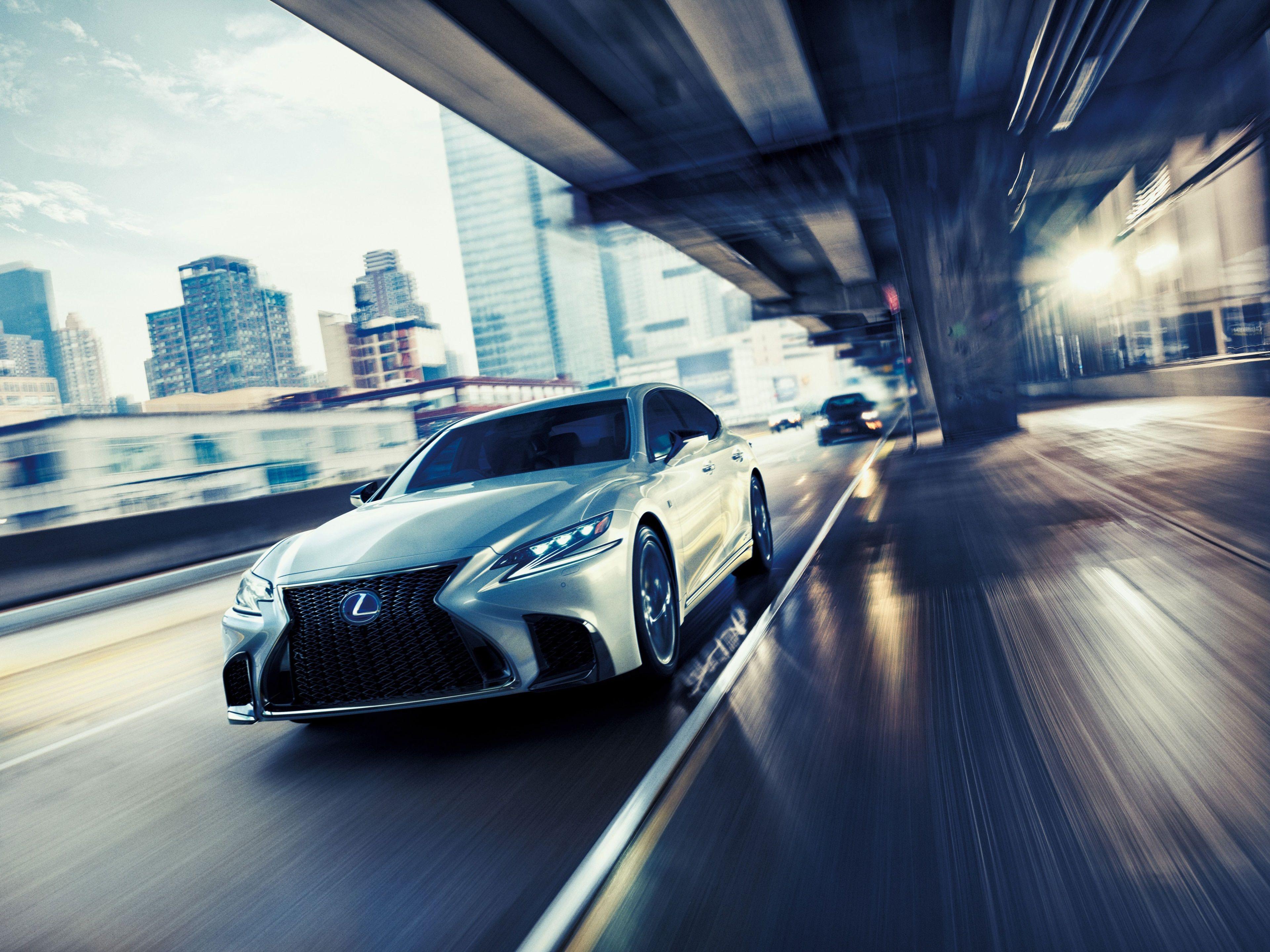3840x2880 Lexus Ls 500 F Sport 4k Background Desktop Wallpaper