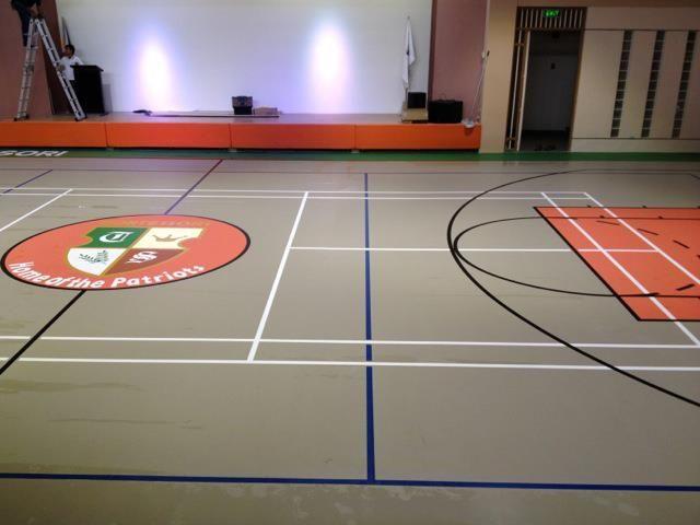 Decoflex Universal Seamless Polyurethane Indoor Sports Flooring The Seed Montessori School Philippines Montessori School Indoor Sports Universal