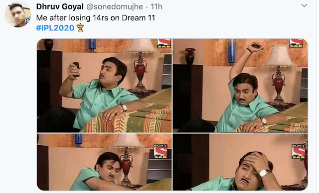 Ipl 2020 Funny Memes Jokes In Hindi Funny Memes Memes