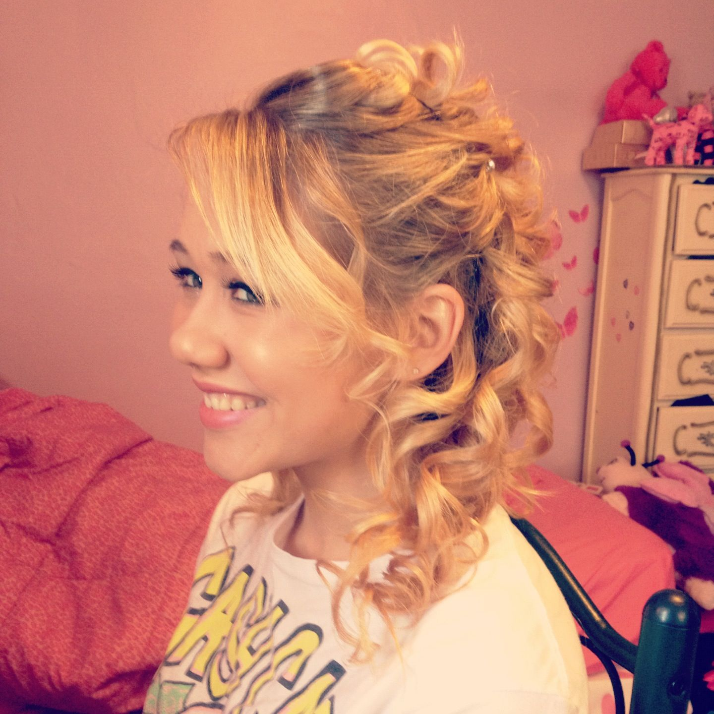 Em's prom hair by me
