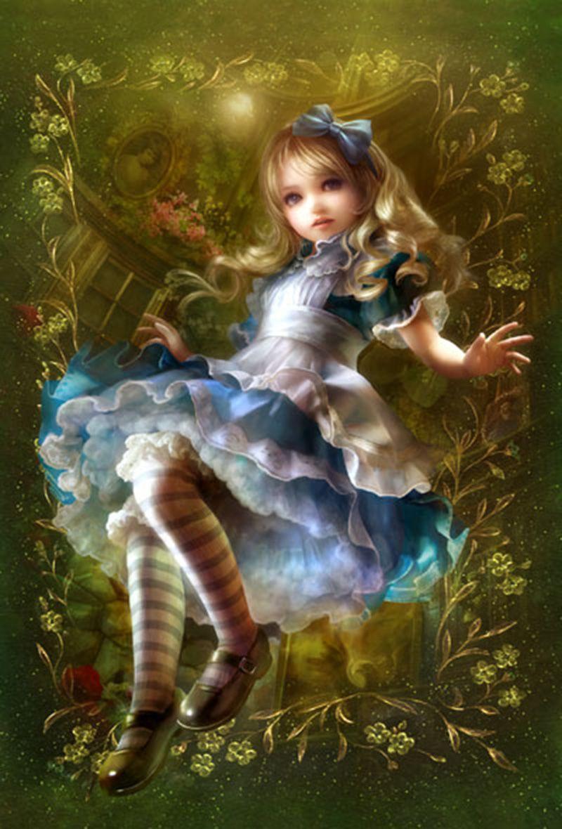 Картинки про алису в стране чудес