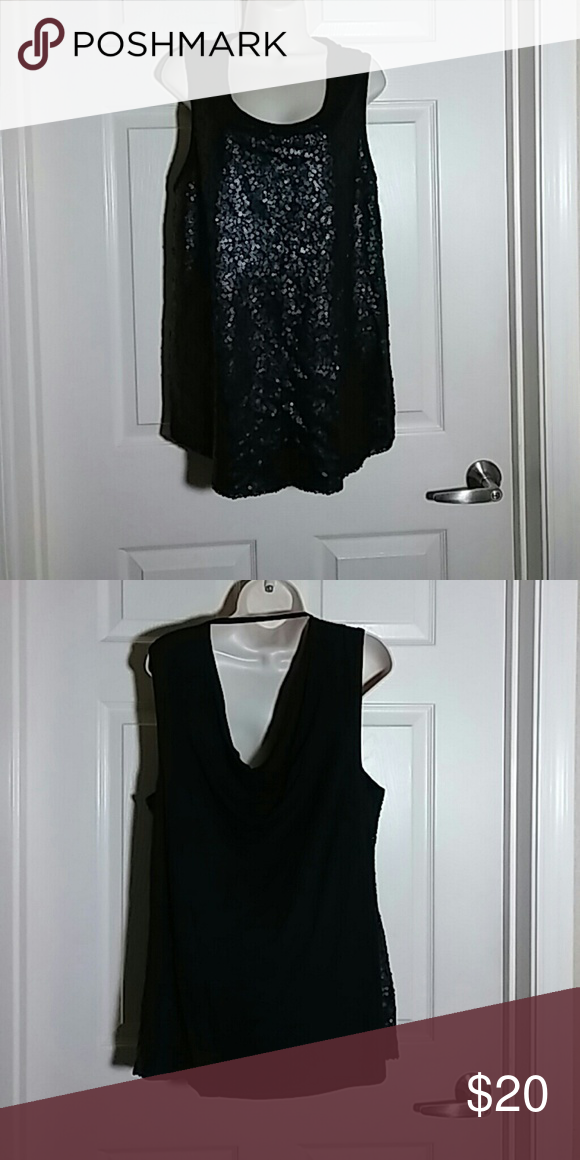 Top Sequins Sixth and Lane (Lane Bryant) Tops