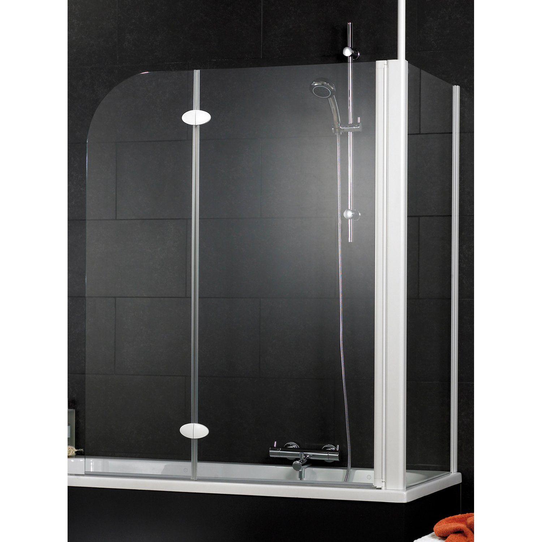 Schulte Badewannenaufsatz 2 Teilig Mit Seitenwand 114 5 Cm X 140