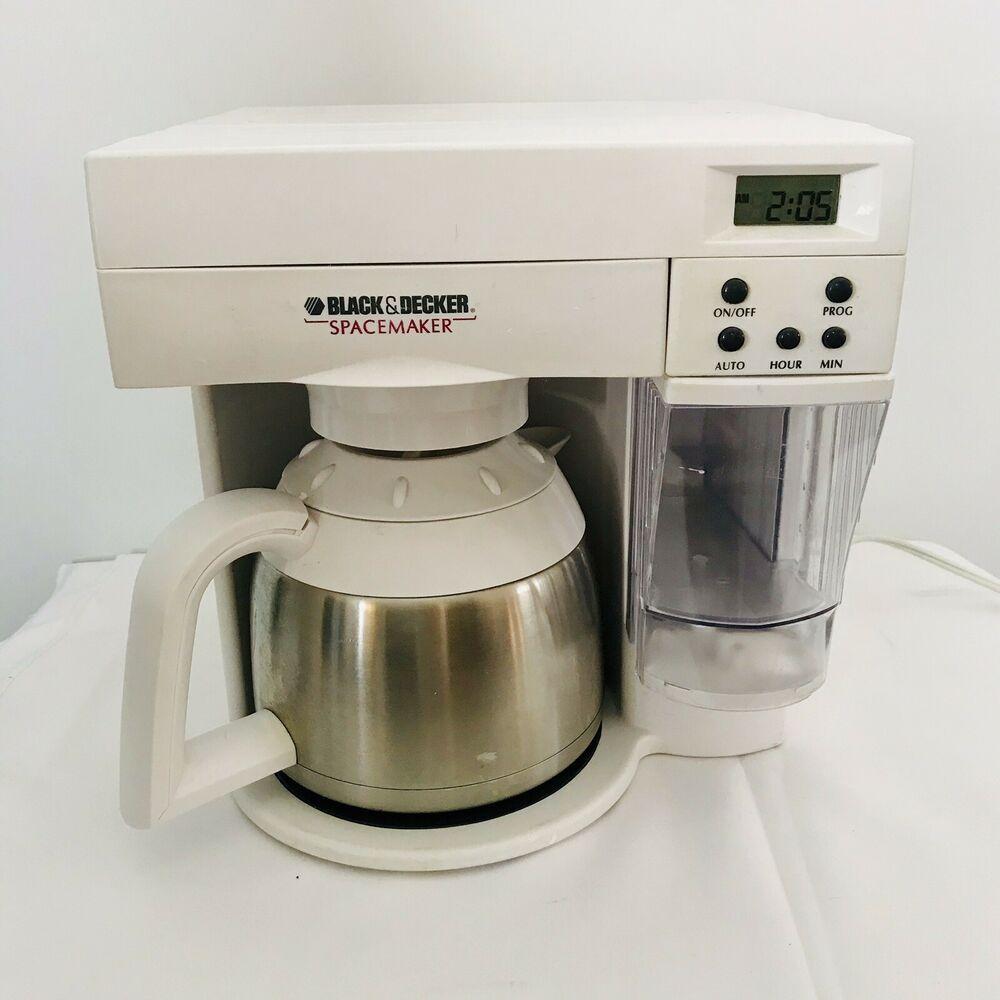 Black Decker Spacemaker Odc 400 Under Cabinet 10 Cup Coffee
