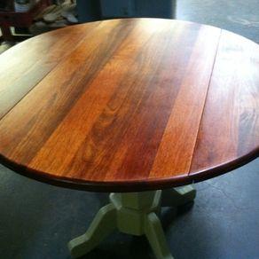 Round Drop Leaf Table By Daniel Bean