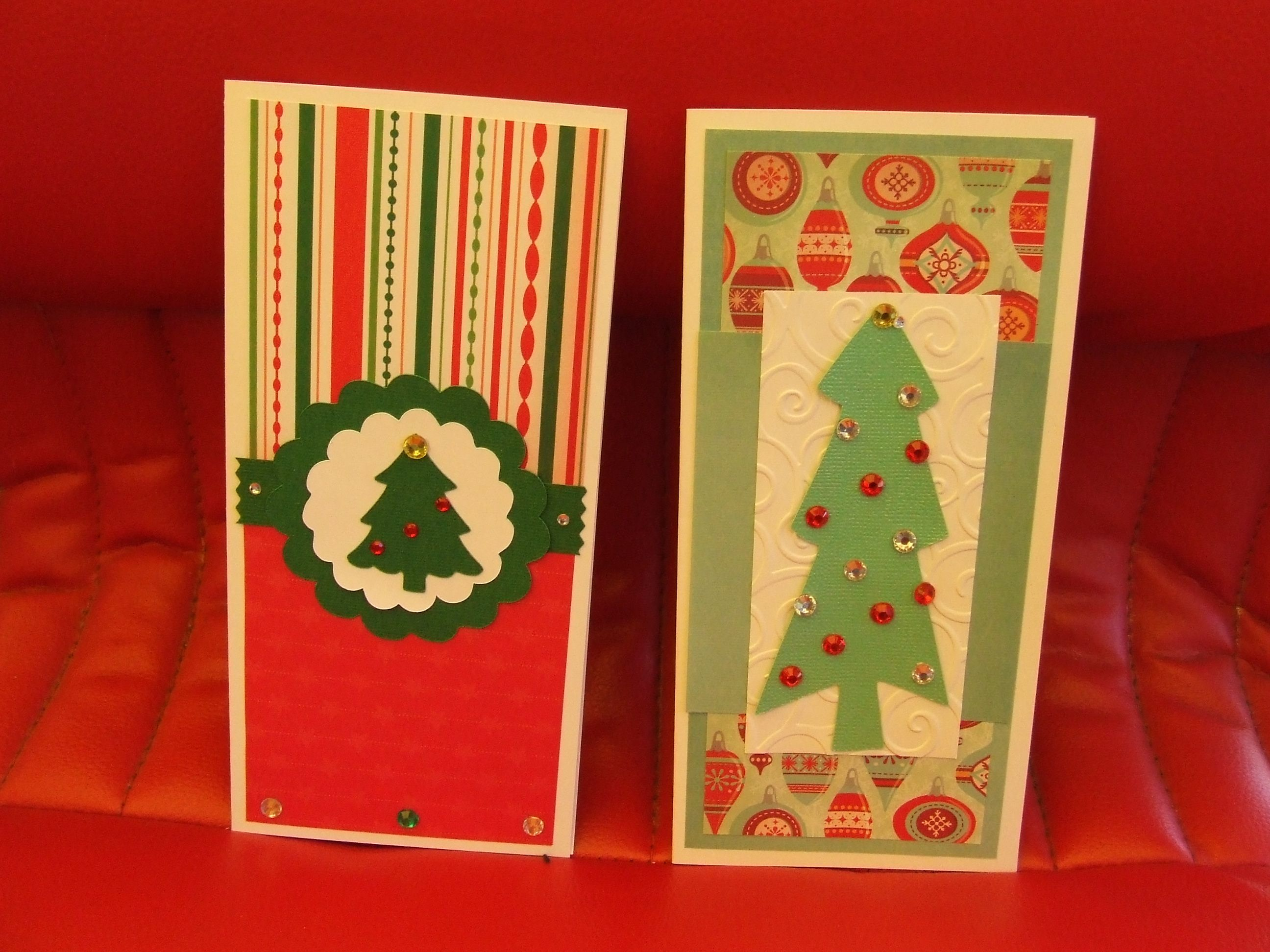 Christmas cards I made for a neighbour
