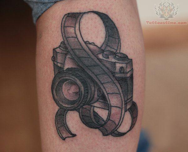 Sydney Marineau Camera Tattoo Camera Tattoos Tattoos