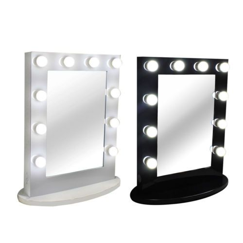 Details About Chende Lighted Vanity Mirror Hollywood Makeup Mirror