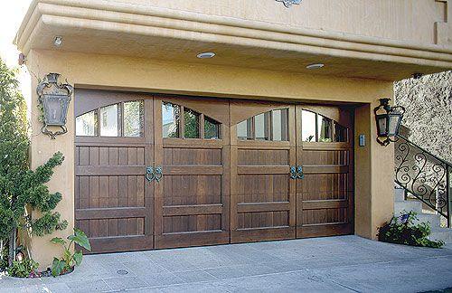 Love The Wood Garage Door   Overhead Door Company Of Conroe