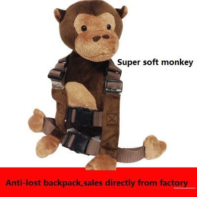 Baby Keeper Safe Harness Walking Anti-lost Backpack Leash Strap Rein Animal Bag