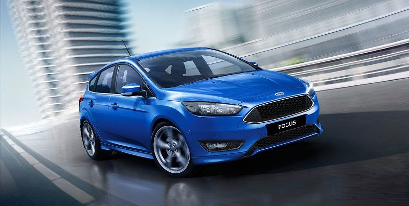2015 Ford Focus Titanium Hatch Blue