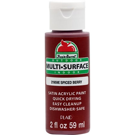 Apple Barrel MultiSurface Satin Acrylic Paints Spiced