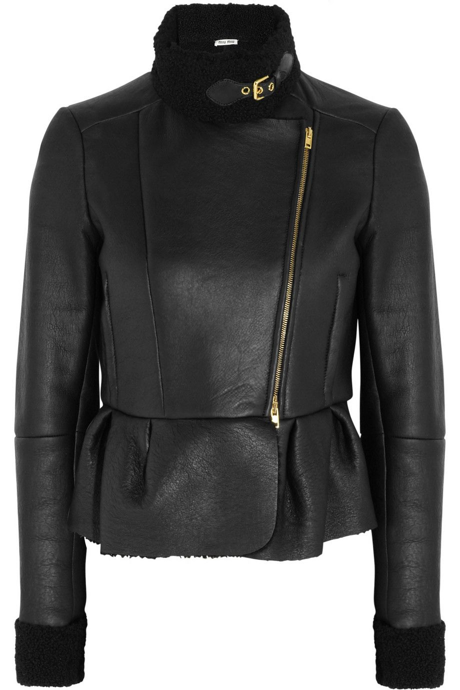 df4ea93e065 The perfect winter leather jacket.... Miu Miu