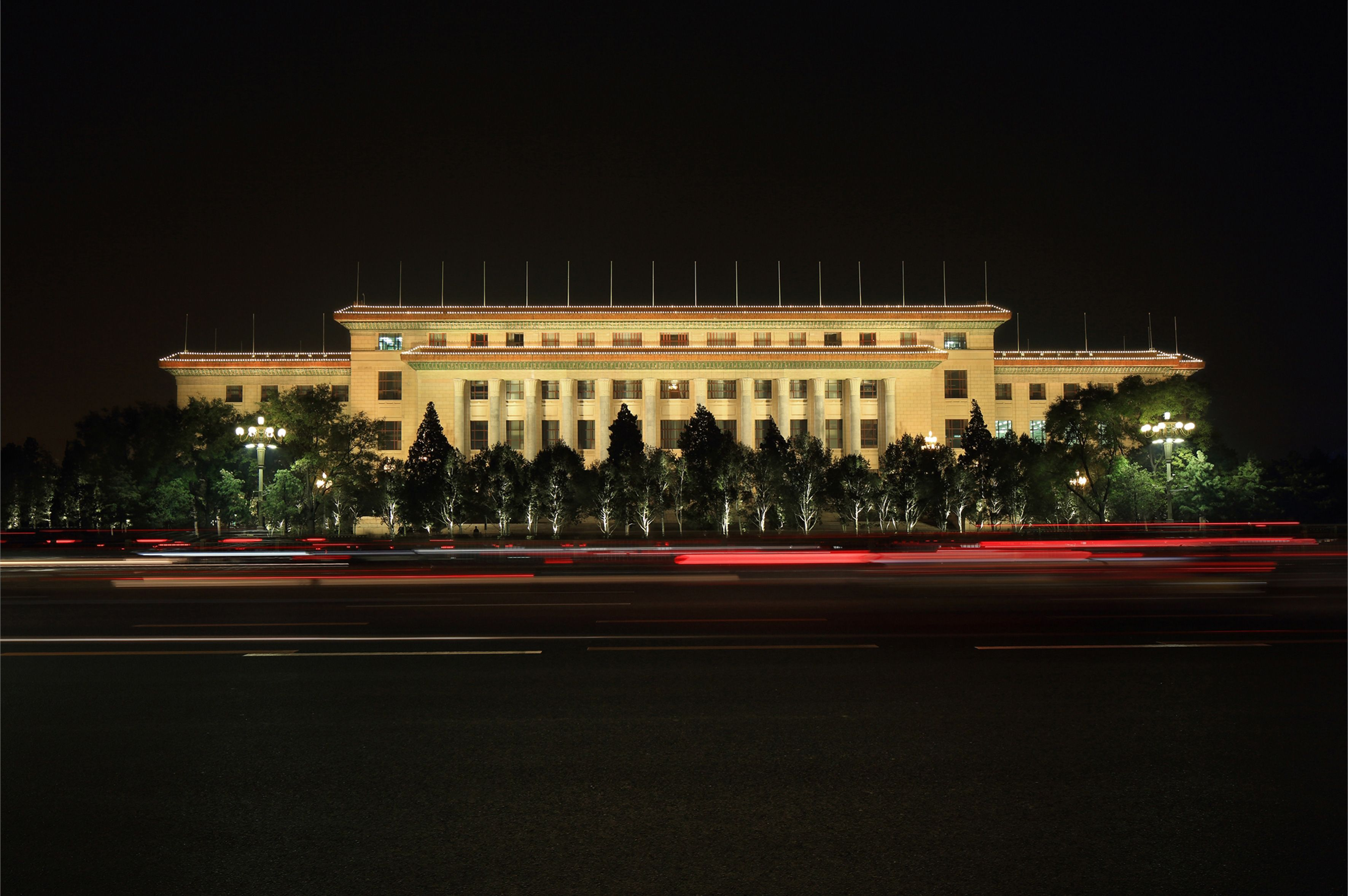 Epic The Great Hall of the People Beijing China Designer Tsinghua The