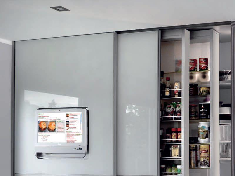 Awesome Küchenschrank Mit Schiebetüren Contemporary ...