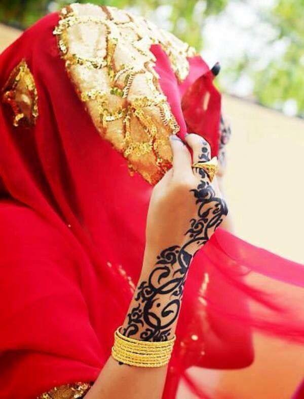 حنة عروس Black Henna Henna Henna Mehndi