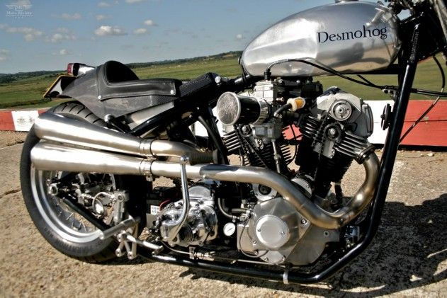 Harley Ducati 900ss Desmohog by Crossbreed Cycles