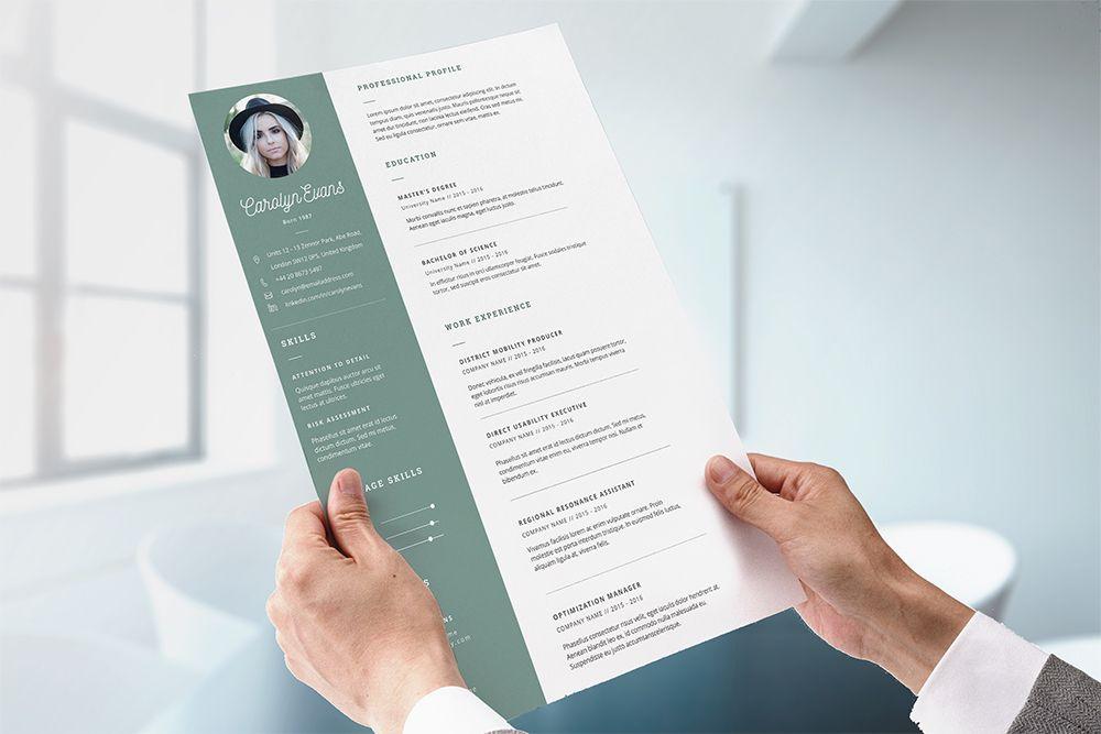 CV pohja englanniksi Steven