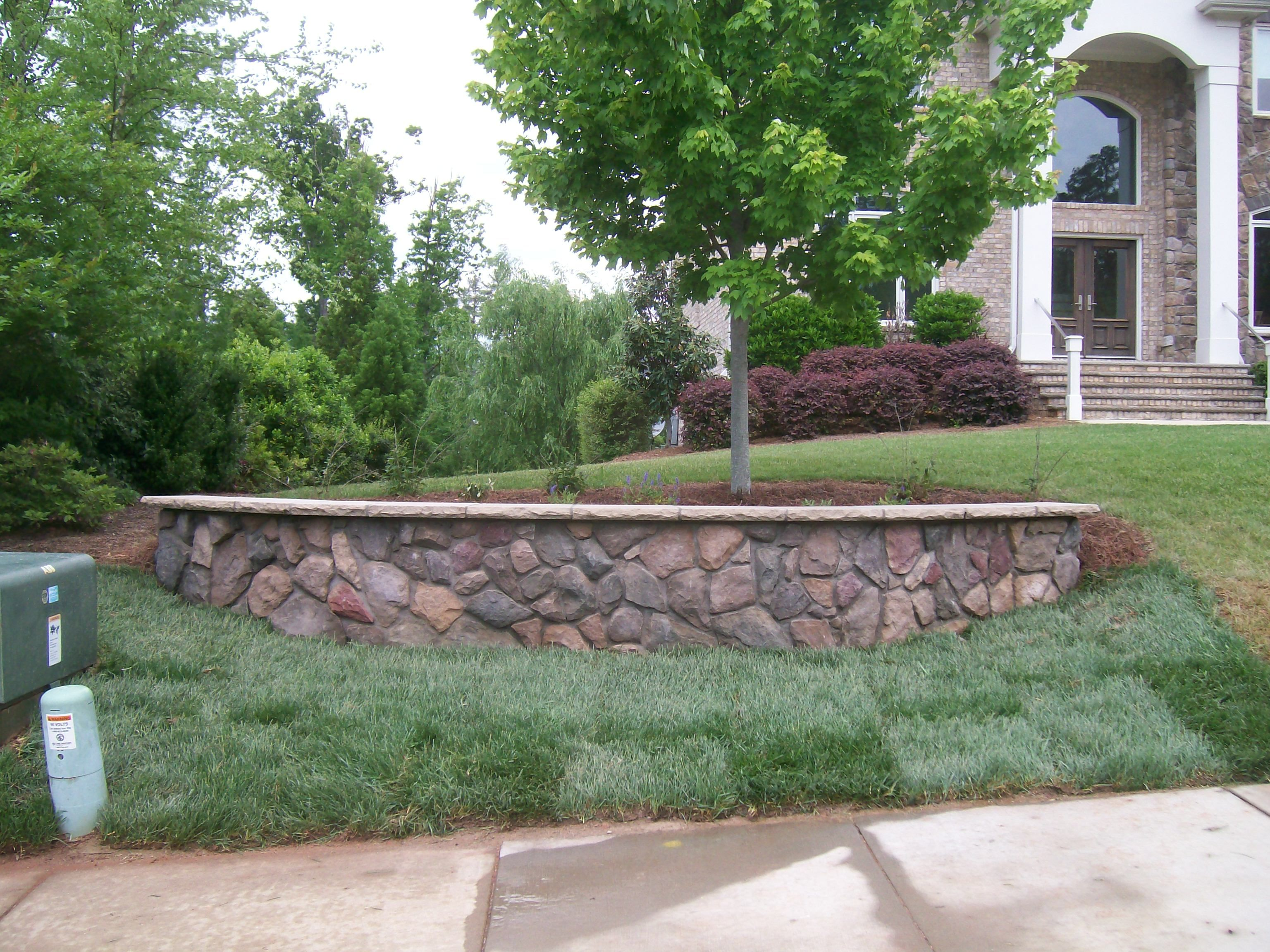 Superior Front Yard Retaining Walls Landscaping Ideas Part - 6: Backyard On A Hill Landscape Ideas - Google Search. Landscaping Retaining  WallsRetaining ...