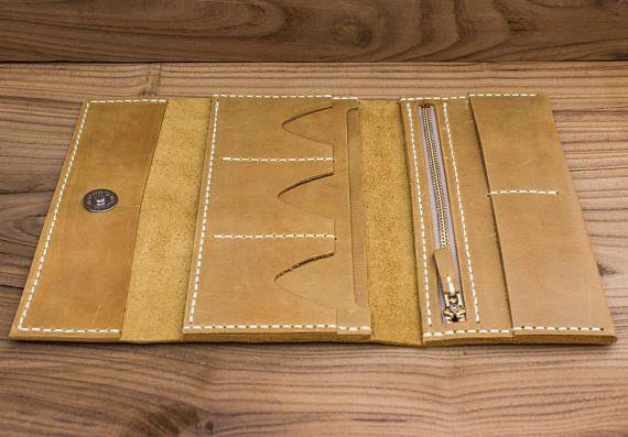 Ledergeldbörse Portemonnaie für Frauen Geschenk für Mama Damen Geldbörse Damen Geschenk Kupplung Geldbörse Geldbeutel Leder Karte Brieftasche kleine Brieftasche lange Brieftasche #walletsforwomen