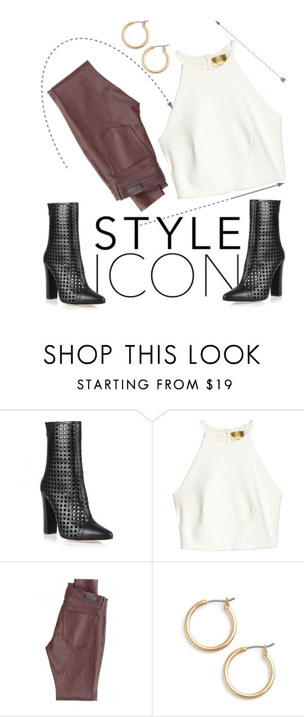 """""""Basic"""" by that-kiid ❤ liked on Polyvore featuring Balmain, AG Adriano Goldschmied and Nordstrom"""