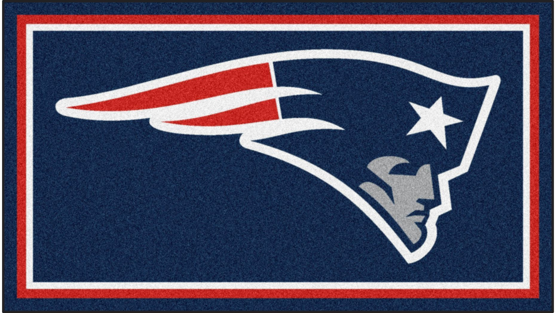 Nfl Big Game New England Patriots 3 X 5 Rug In 2020 New England Patriots Logo Nfl New England Patriots Patriots Logo
