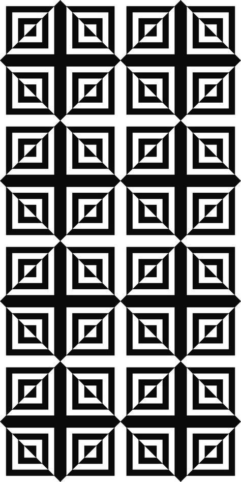 Seamless Monochrome Square Pattern Stock Vector (Royalty Free) 270987767