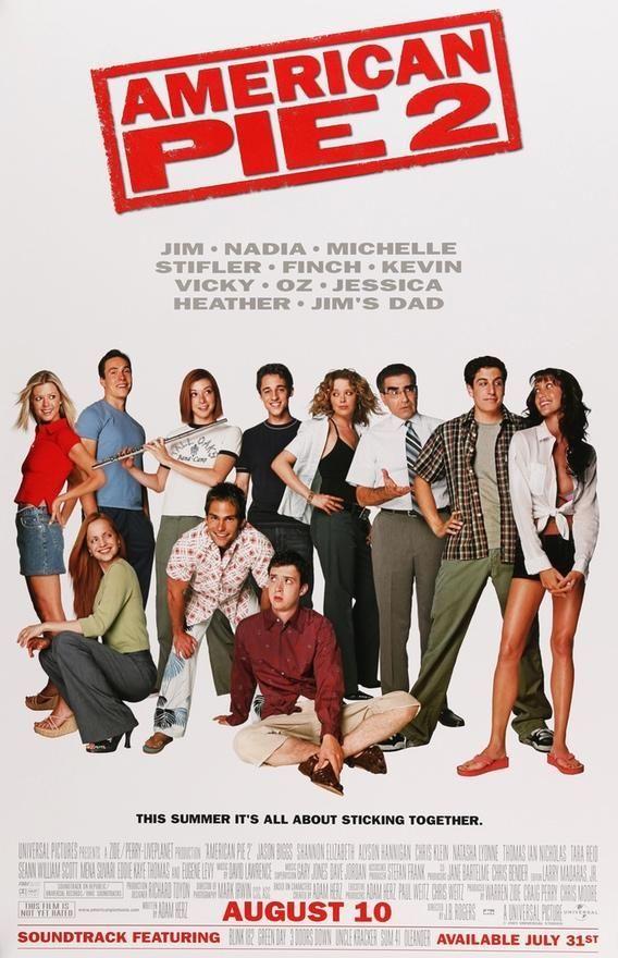 American Pie 2 2001 Cartaz De Filme Filmes E Cartaz