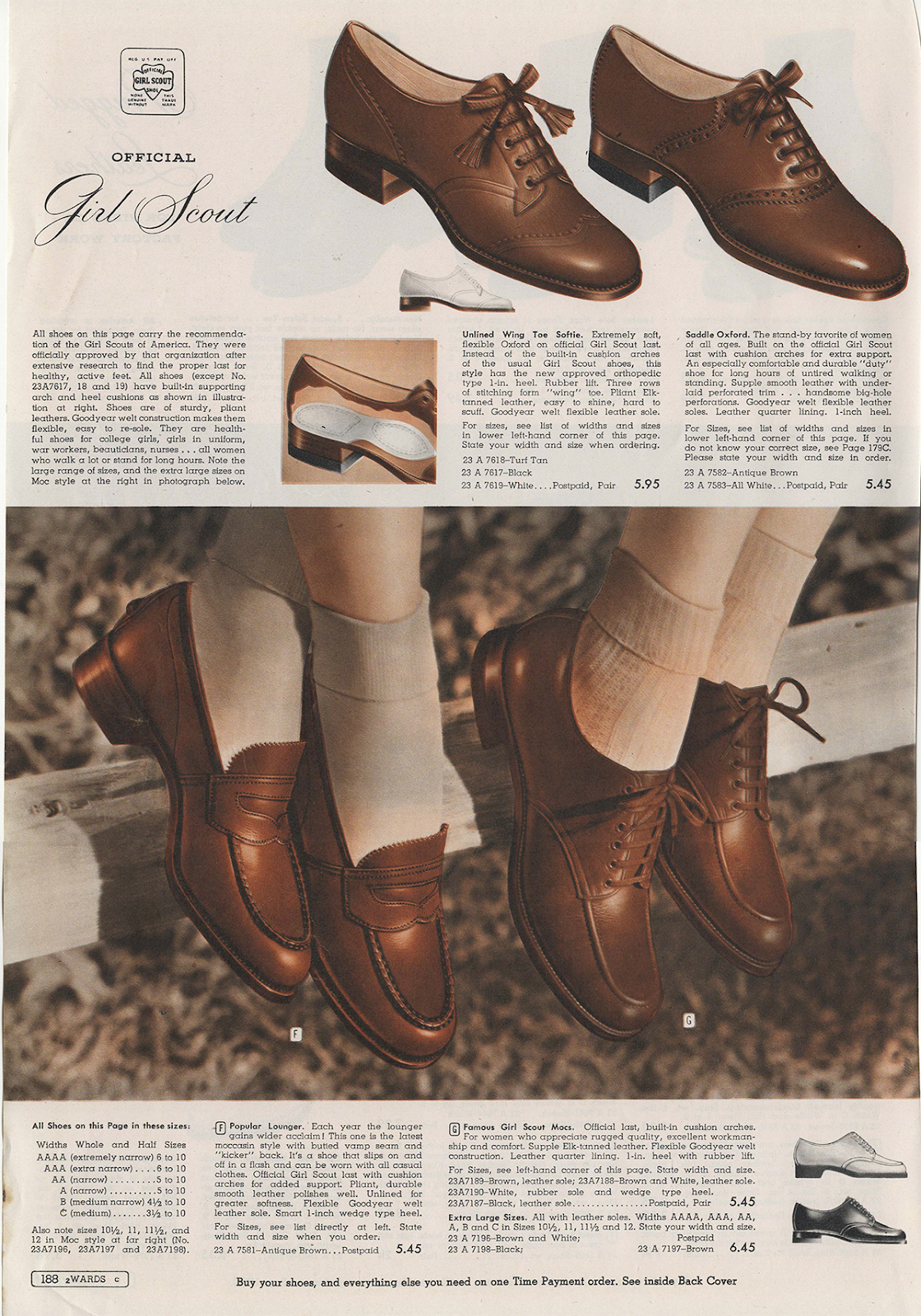 The Closet Historian Cataloging Catalogs Shoes Montgomery Wards Spring Summer 1943 1930s Shoes Oxford Shoes Vintage Shoes
