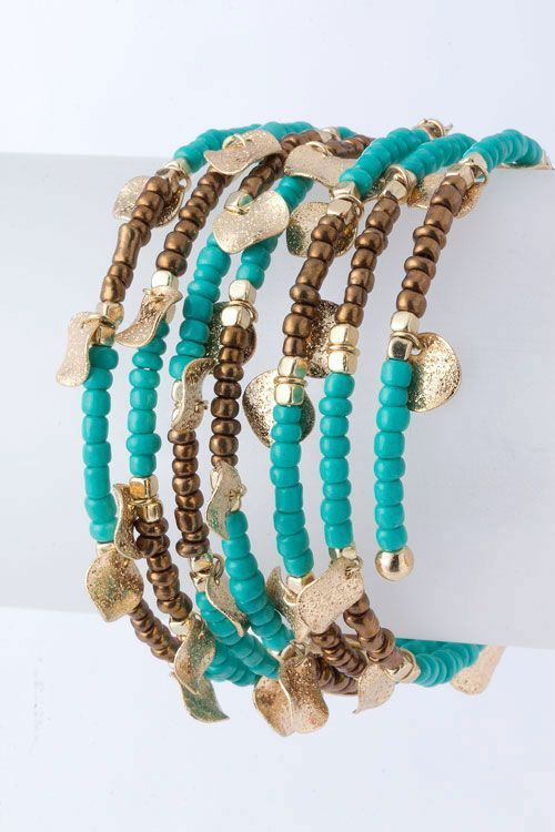 Love the multi-coloured strands Jewelry designing Pinterest