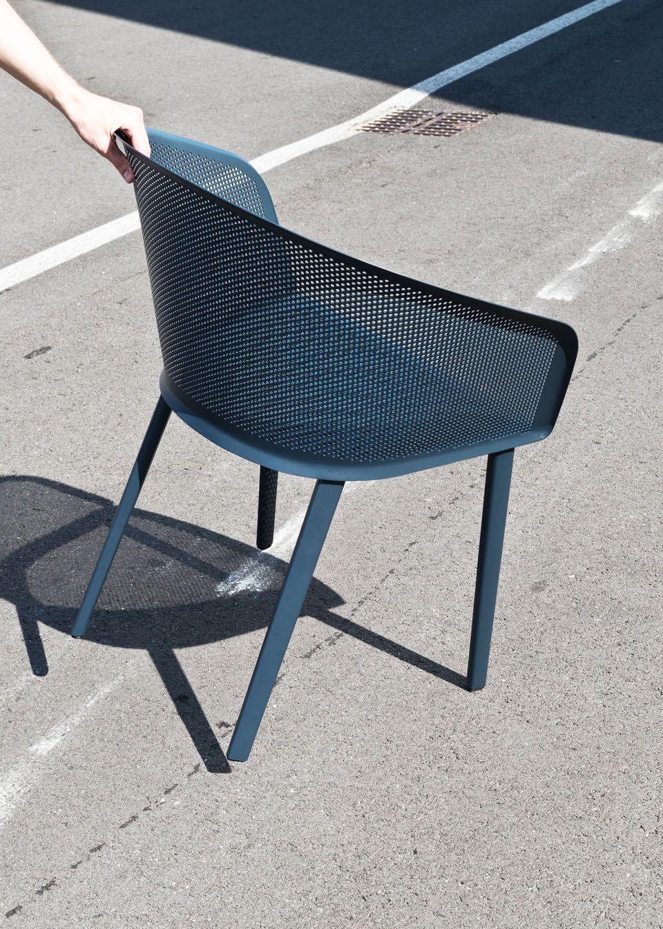 Bouroullec Pour Kettal Chaise D Exterieur Mobilier Exterieur Diy Mobilier Exterieur
