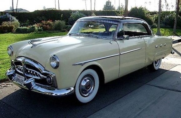 Unrestored 73k mile 1954 packard pacific hardtop for Motor city pawn shop on east 8 mile