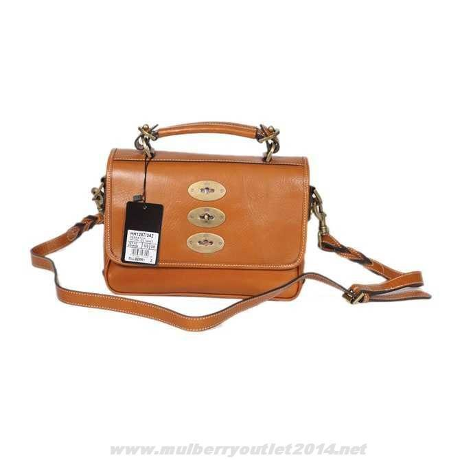 121553efa1 MK 2014 Womens Mulberry Medium Big Bryn Shiny Grained Leather Satchel Light  Coffee For Wholesale