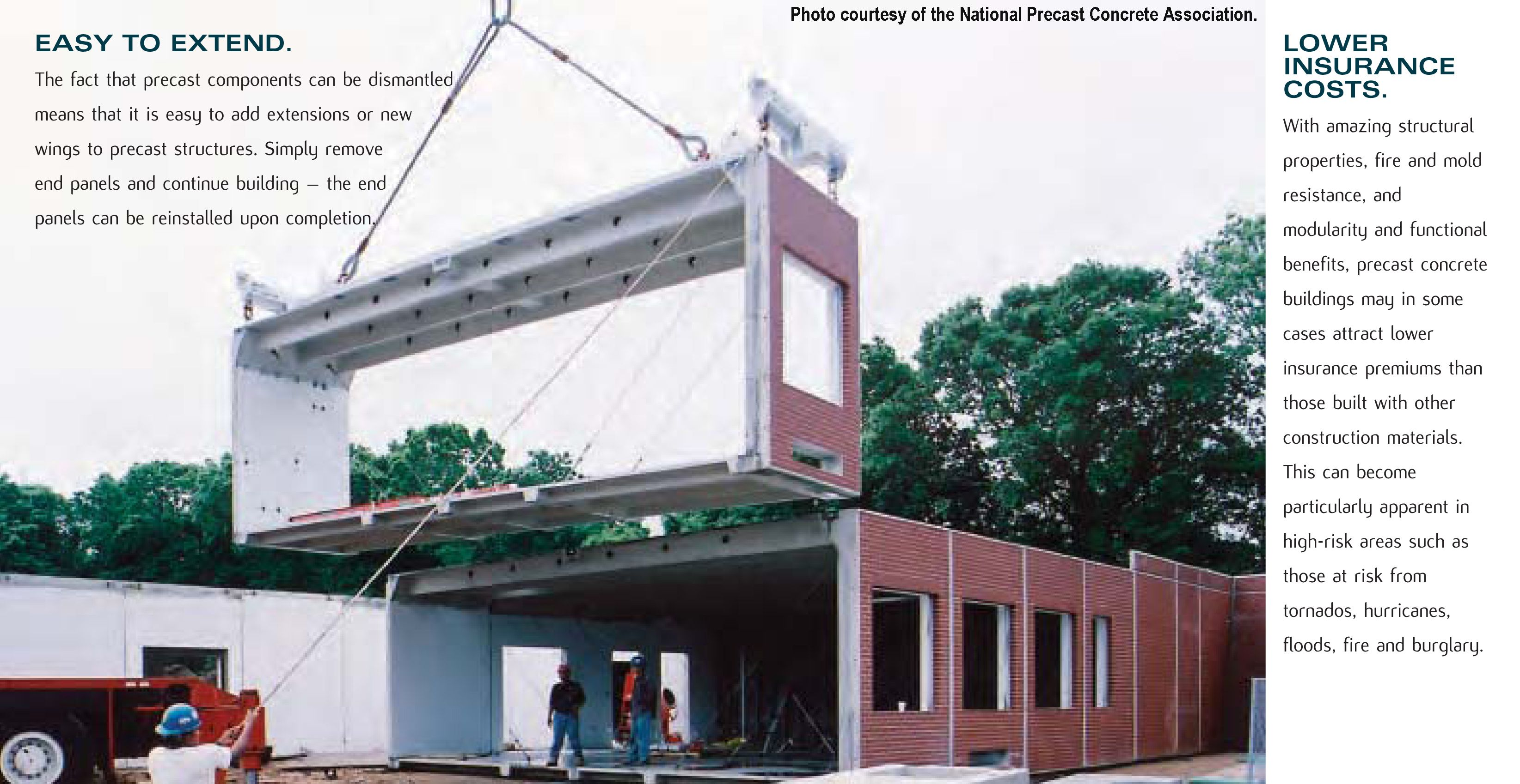 The Fact That Precast Components Can Be Dismantled Means That It