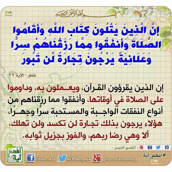 Pin By Zaid Bitar On تفسير ايات القرأن الكريم Quran Tafseer Ahadeeth Wisdom