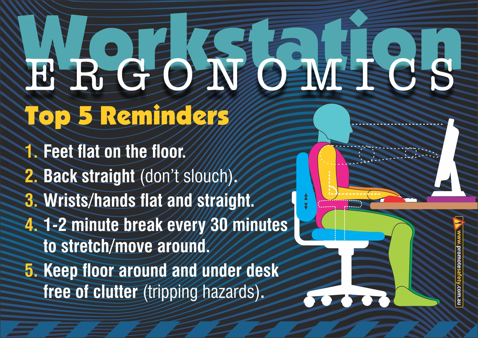 Workplace Safety and Health Workstation Ergonomics